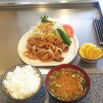 もみの木 - 料理写真:豚焼肉定食