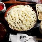 91942490 - 讃岐ざるうどんとカレー丼のセット:800円