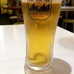 ゴーゴーカレー - 生ビール:290円