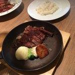 近江牛Steak&Wine モダンミール 草津店 - 赤身ランチステーキ