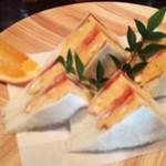 自家焙煎珈琲 蘭館 - 卵サンド750円