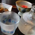91947282 - 焼味噌、ニシンの山椒煮など
