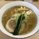 支那そば心麺 - 「白メンマの塩ラーメン」930円
