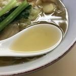 支那そば心麺 - 塩スープ