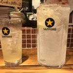 ビストロ NEJI‐KEN‐KEN 赤坂荘 - 1リットルレモンサワー
