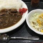 山神山人 - 料理写真:ビーフカレー
