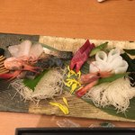 鮨酒肴や魚忠本店 - お造り