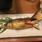 鮨酒肴や魚忠本店 - 鮎塩焼き
