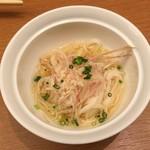 鮨酒肴や魚忠本店 - 素麺