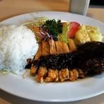ケン食堂 - 料理写真:Aランチ、700円