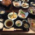 かこみ - 料理写真:ランチセット(2000円)