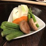炙り小路 しゃ輪 - 焼き野菜
