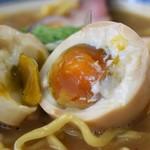 麺屋AMORE - 辛いバリ鰹+味玉