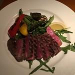 91953039 - 牛肉のステーキ タリアータ