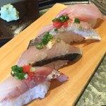 地魚回転寿司 丸藤 - 料理写真:201808