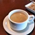 パームビーチ - 食後のコーヒー。