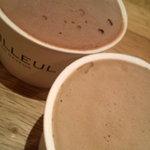 ドゥバイヨル - ショコラ、カフェ どっちがどっちだ?どっちでもいいか。