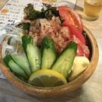 海坊主 - 豆腐サラダ