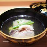 馳走なかむら - 冬瓜と甘鯛のお椀