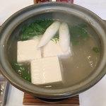 アピカルイン京都 - 料理写真:湯豆腐