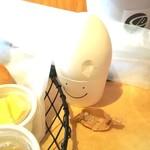 COMPTOIR - にっこりゆで卵。