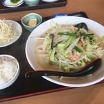 台湾料理 福祥閣 - 長崎ちゃんぽん麺セット¥800 by masakun