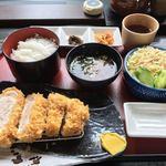 金重 - 超熟尾瀬ドリームポーク  ロースかつ定食 ¥1750
