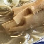 そうげんラーメン - 味玉地鶏白湯ラーメン メンマ