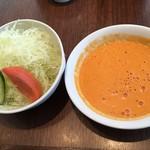 91967935 - サラダとスープ