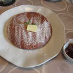 青葉珈琲店 - メープルバターパンケーキ