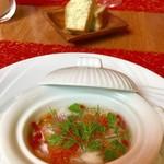 D'ORO - ランチ ショートコース¥3780(税込)の前菜