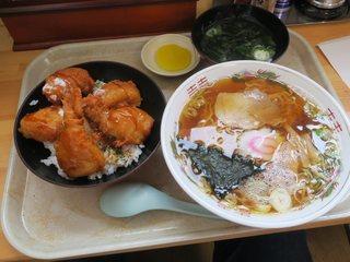 善助屋食堂 - 自力セット(¥1.430)