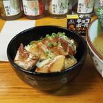91970791 - 彩りセットの小角煮丼