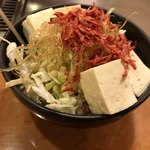 91973519 - 豆腐もんじゃ原型