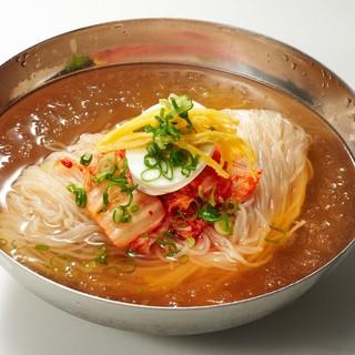 【必食】★自慢の完全手打ち冷麺をぜひご賞味下さい♫