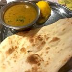 インド・ネパール創作料理 スリスティ - ダールカレーセット