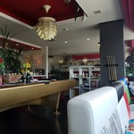 Cafe del Ibiza - 広々とした店内