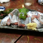 わんこそば たち花 - 「サンマ刺身」750円