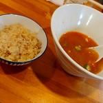 極汁美麺 umami - さんまのかき氷麺&鶏飯