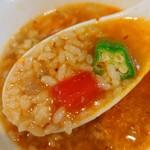 極汁美麺 umami - さんまのかき氷麺-鶏飯ダイブ