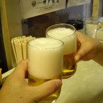為井屋酒店  - キリン瓶ビールで