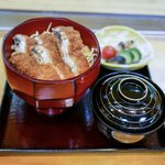 う奈ぎ道場 - ■鰻かつ丼 2500円