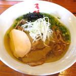 麺や 亀陣 - 鶏そば塩_750円