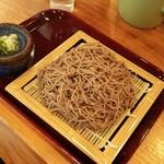 五木久領庵 - 料理写真:ざるそば\600+大盛り\150