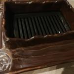 300円焼肉酒場 - 焼き台