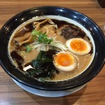 麺屋 楼蘭 - 焦がし味噌らー麺