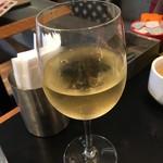 グッドモーニングカフェ - ハウスワインの白('18/09/02)