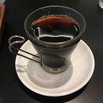 グッドモーニングカフェ - セットドリンクのホットコーヒー('18/09/02)