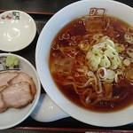 坂内 - 冷やしラーメン750円