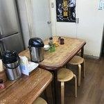 天ぷら ますい - テーブル席